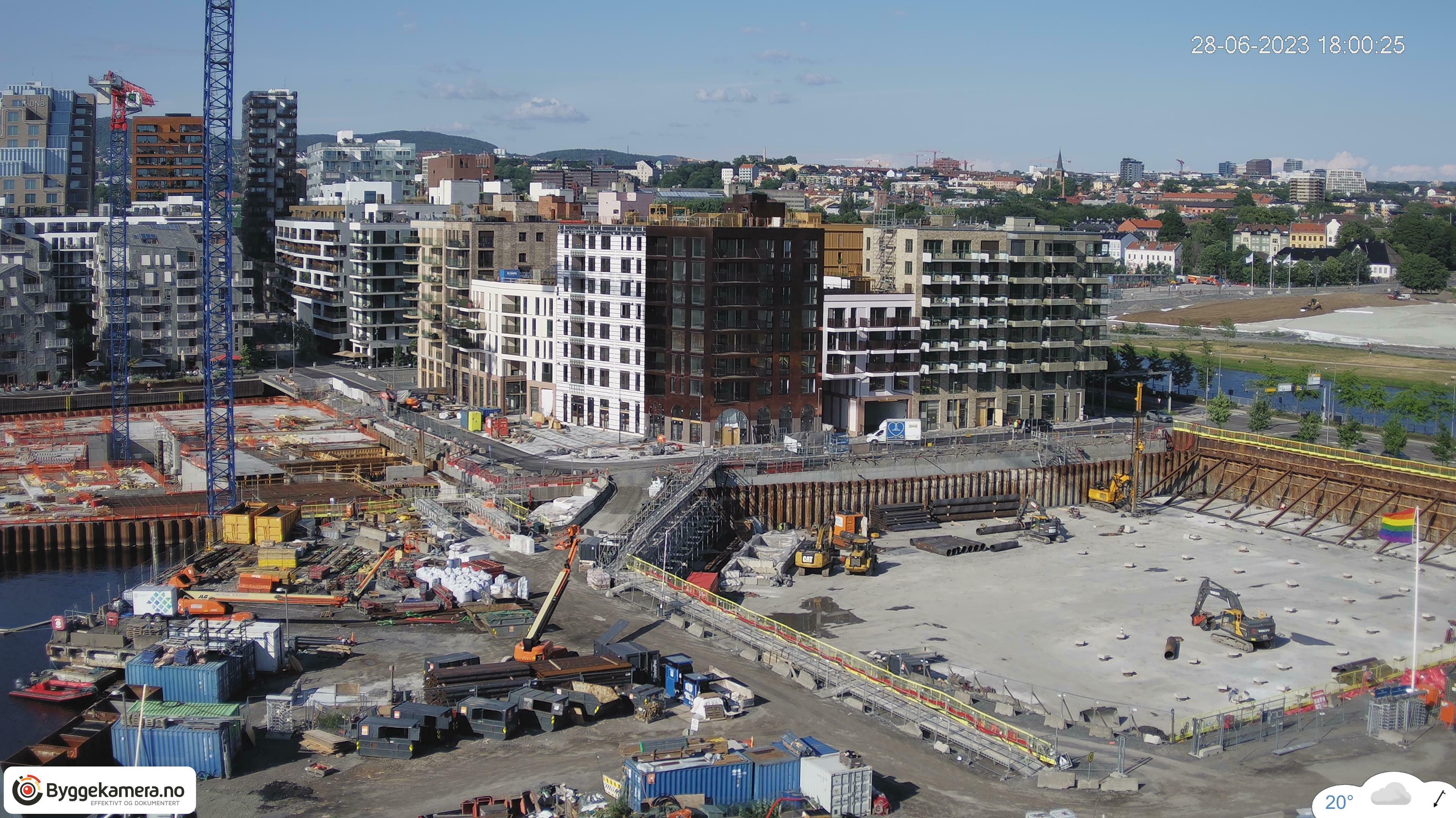 Dagens bilde fra byggeplassen: