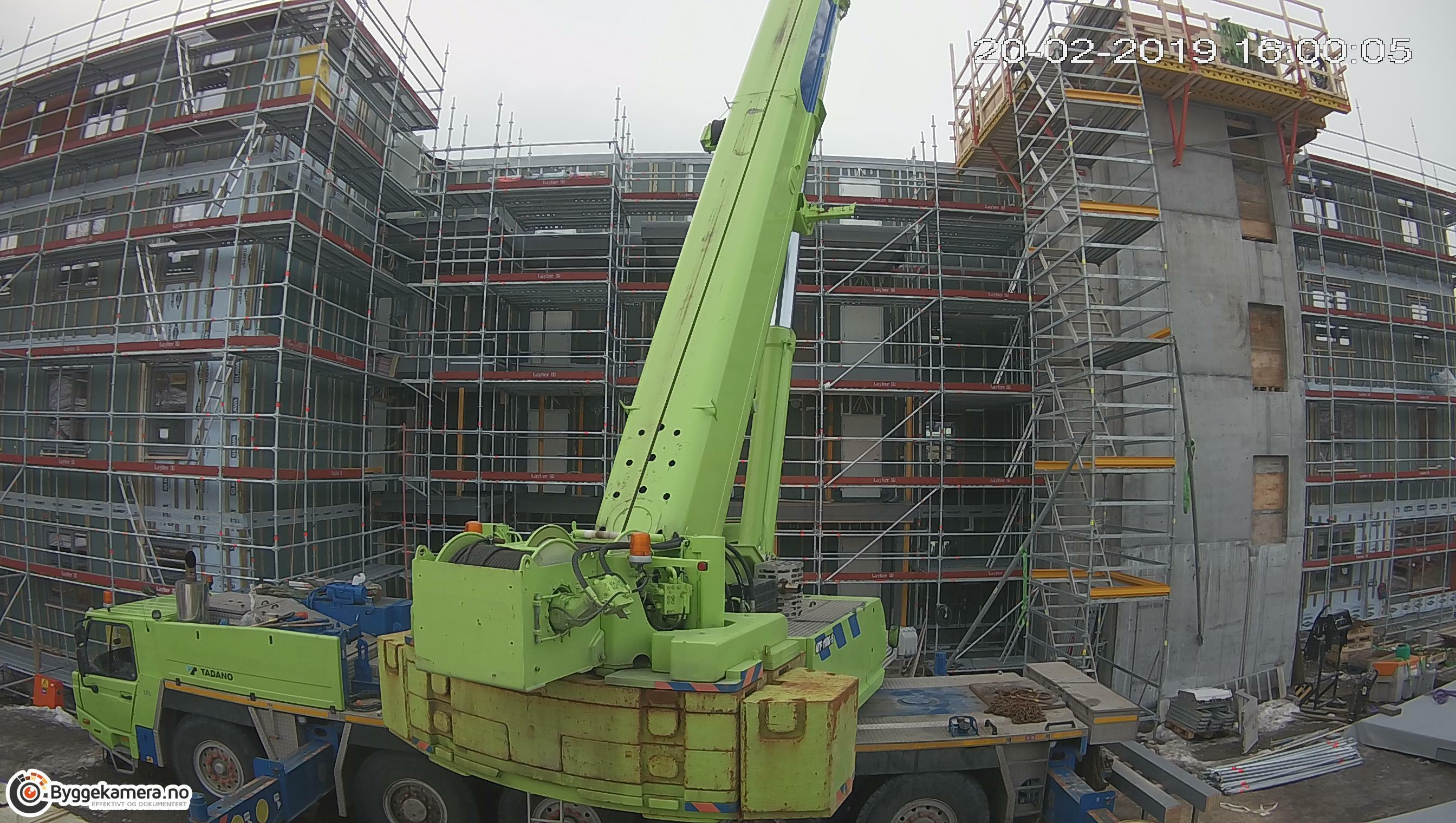 Pålsøya Park webkamera fra byggeplass