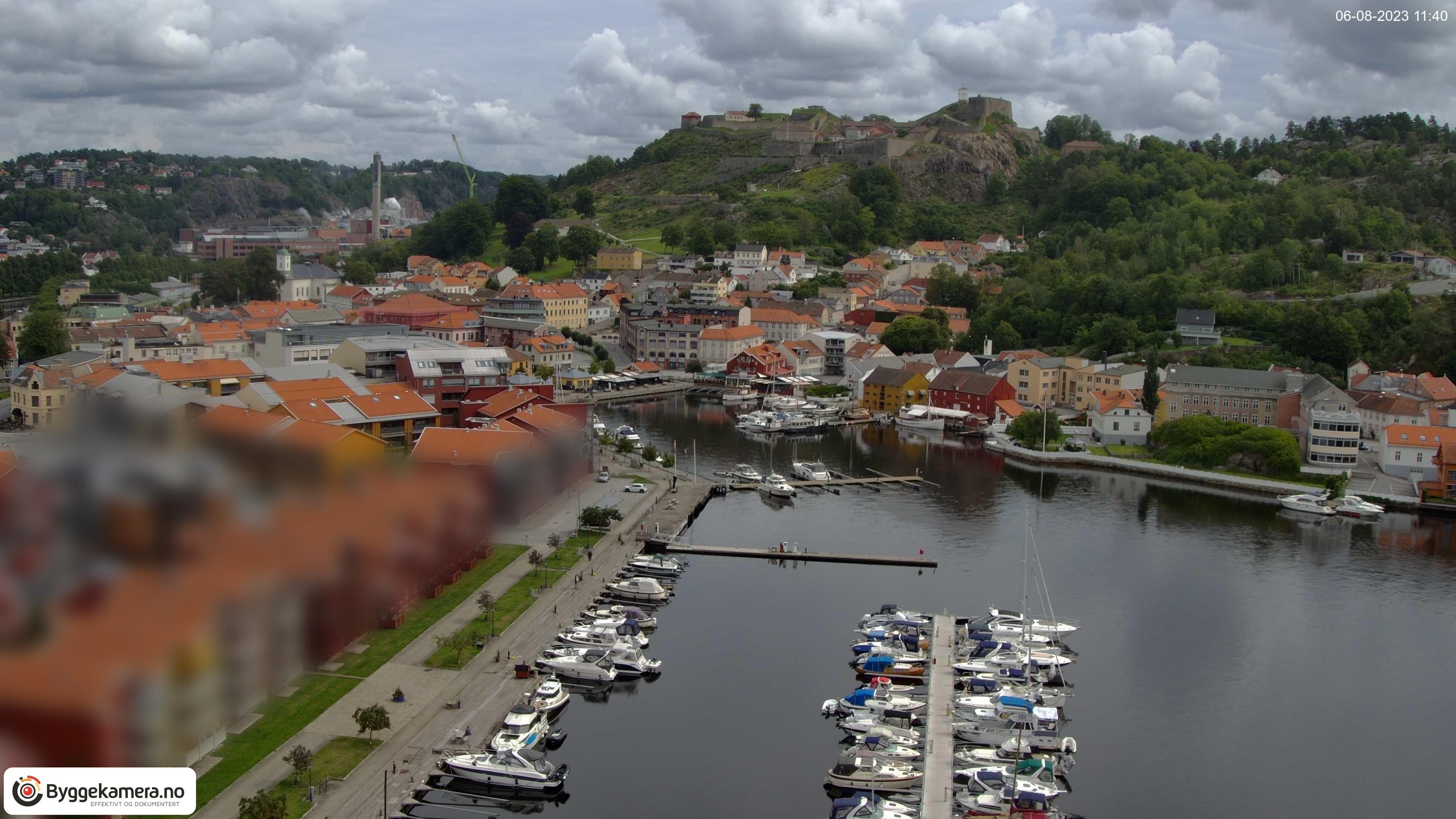 Webcam Halden, Halden, Østfold, Norwegen